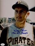 1950-67 Pittsburgh Pirates Vern Law Autographed 8x10 Color Photo JSA Hologram