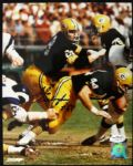 1966-76 Gale Gillingham Green Bay Packers Auto 8 x 10 Photo JSA Hologram