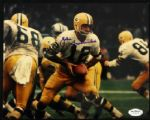 1963-71 Zeke Bratkowski Green Bay Packers Signed 8 x 10 Photo JSA Hologram