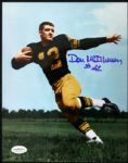1957-59 Don McIlhenny Green Bay Packers Signed Auto 8 x 10 Photo JSA Hologram
