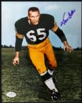 1955-61 Tom Bettis Green Bay Packers Signed 8 x 10 Photo JSA Hologram