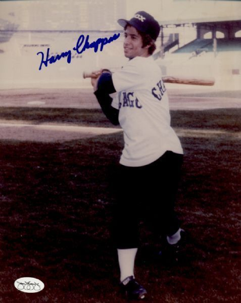 1978-80 Chicago White Sox Harry Chappas Autographed 8x10 Photo JSA Hologram