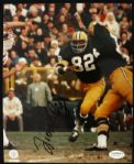 1963-71 Lionel Aldridge Green Bay Packers Signed Auto 8 x 10 Photo JSA Hologram