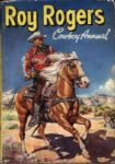1950s Roy Rogers Cowboy Annual HC Book - World Distributors Western Publishing
