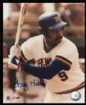 1978-82 Milwaukee Brewers Larry Hisle Autographed 8x10 color Photo JSA Hologram