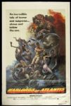 "1978 Warlords of Atlantis 1-Sheet(27"" x 41"")Original Movie Poster Tale of Terror"