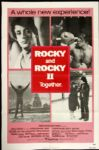 "1980 Rocky & Rocky II Together 1-Sheet (27""x41"") Original Movie Poster Stallone"