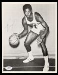 1970-74 Oscar Robertson Milwaukee Bucks Signed Autographed Photo 8 x 10 HOF JSA
