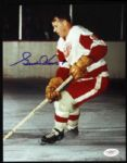 1947-71 Gordie Howe Detroit Red Wings Signed Autographed 8 x 10 Photo HOF JSA