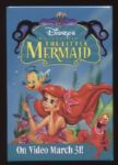 1999 The Little Mermaid Promotional Pinback Button