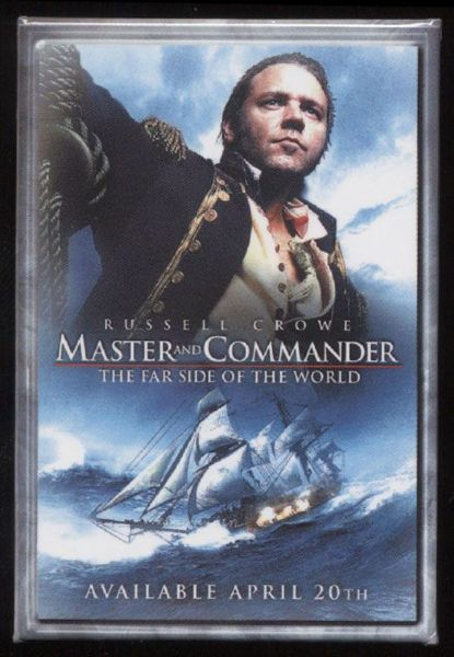 2004 Master and Commander: The Far Side of the World Promotional Pinback Button