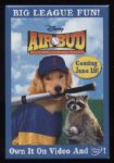 2002 Air Bud Promotional Pinback Button