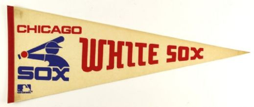"1970s Chicago White Sox 30"" Full Size Pennant"