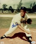 1950-57 Brooklyn Dodgers Clem Labine Autographed 8x10 Color Photo JSA Hologram