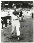 "1954 Mint Hank Aaron Rookie #5 Milwaukee Braves Signed 16"" x 20"" Photo (JSA)"