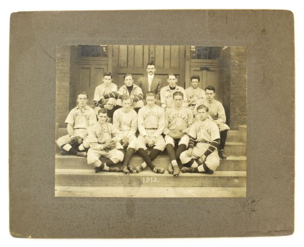 "1912 Montclair New Jersey Baseball Team 16"" x 20"" Mounted Photo"