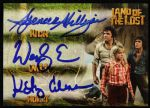 2013 Spencer Milligan Wesley Eure Kathy Coleman Land of the Lost Signed Card
