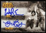2013 Wesley Eure Phil Paley Will Chaka Land of the Lost Signed Card
