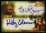 2013 Phil Paley Kathy Coleman Chaka Holly Land of the Lost Signed Card