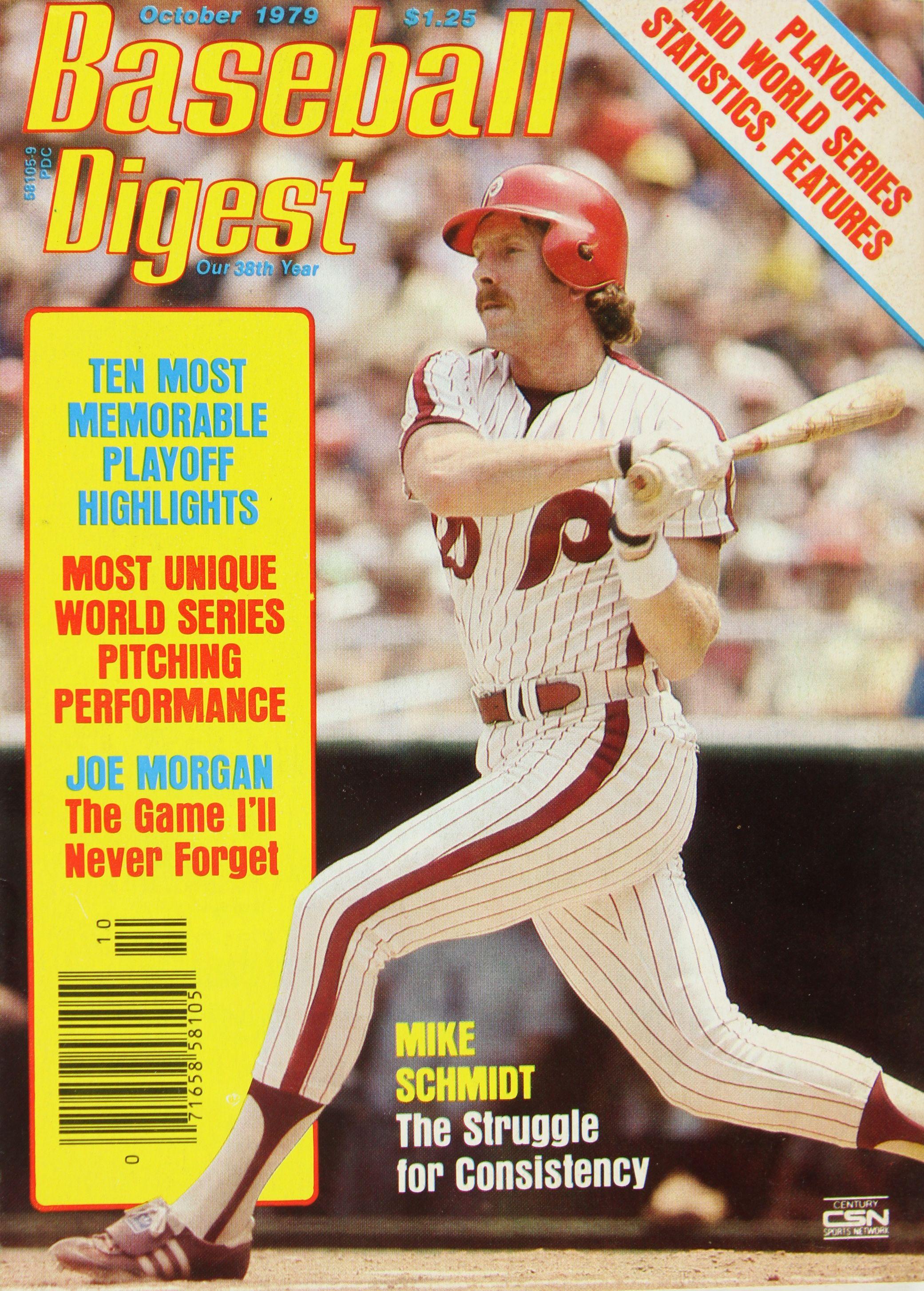official photos 38f67 88cb2 Lot Detail - 1979 Mike Schmidt Philadelphia Phillies Game ...