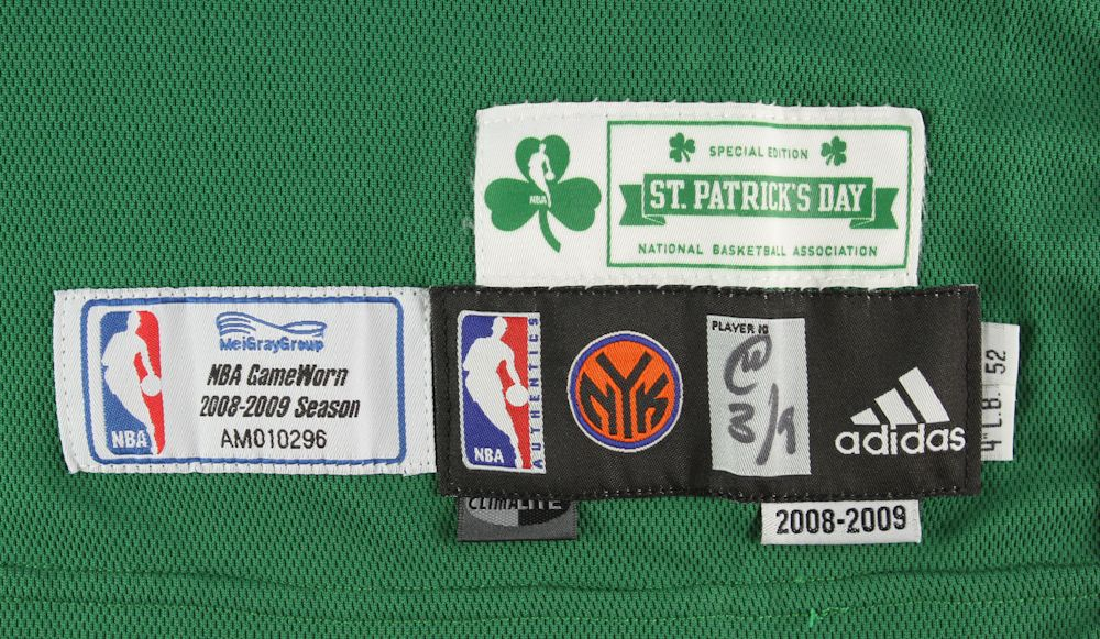 best website 623fa bc5a7 Lot Detail - 2009 (March 18) David Lee New York Knicks Game ...