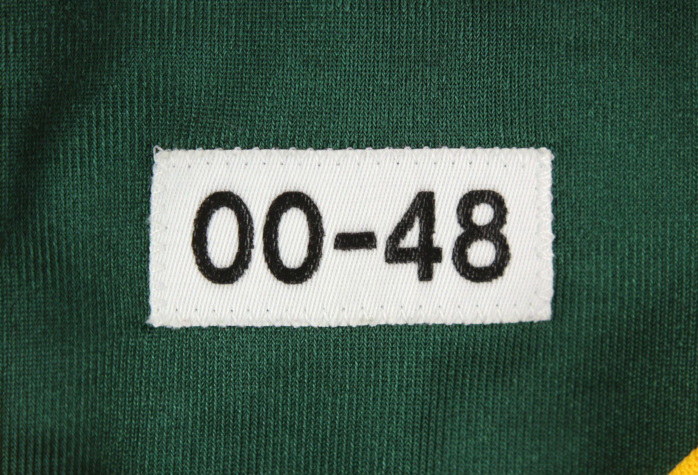 sports shoes f7e97 6082e Lot Detail - 2000 Brett Favre Green Bay Packers Game Worn ...