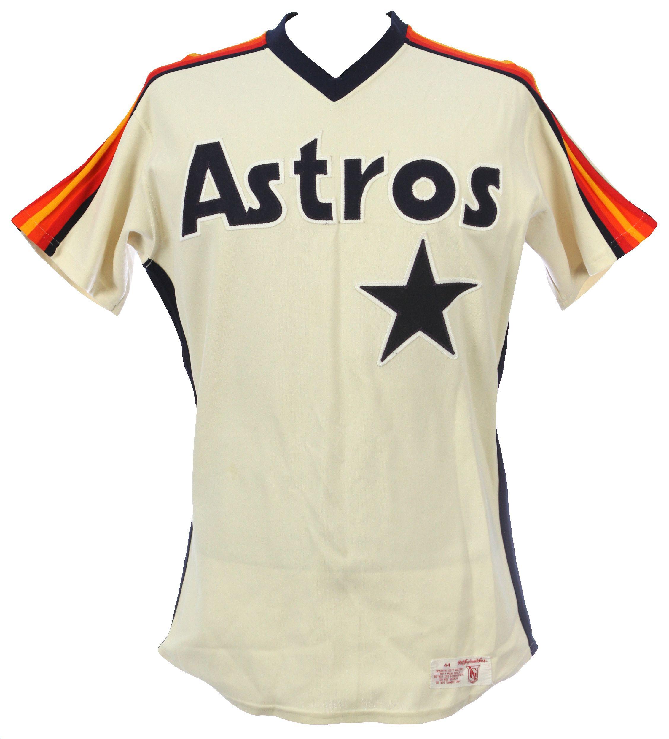 finest selection 7d2e8 1bd91 Lot Detail - 1984-88 Nolan Ryan Houston Astros Game Worn ...