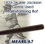 1933-34 circa Joe Jackson H&B Louisville Slugger Post Career Barnstorming Bat (MEARS A7)