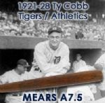 1920-28 Ty Cobb Tigers/Athletics H&B Louisville Slugger Professional Model Game Used Bat (MEARS A7.5)