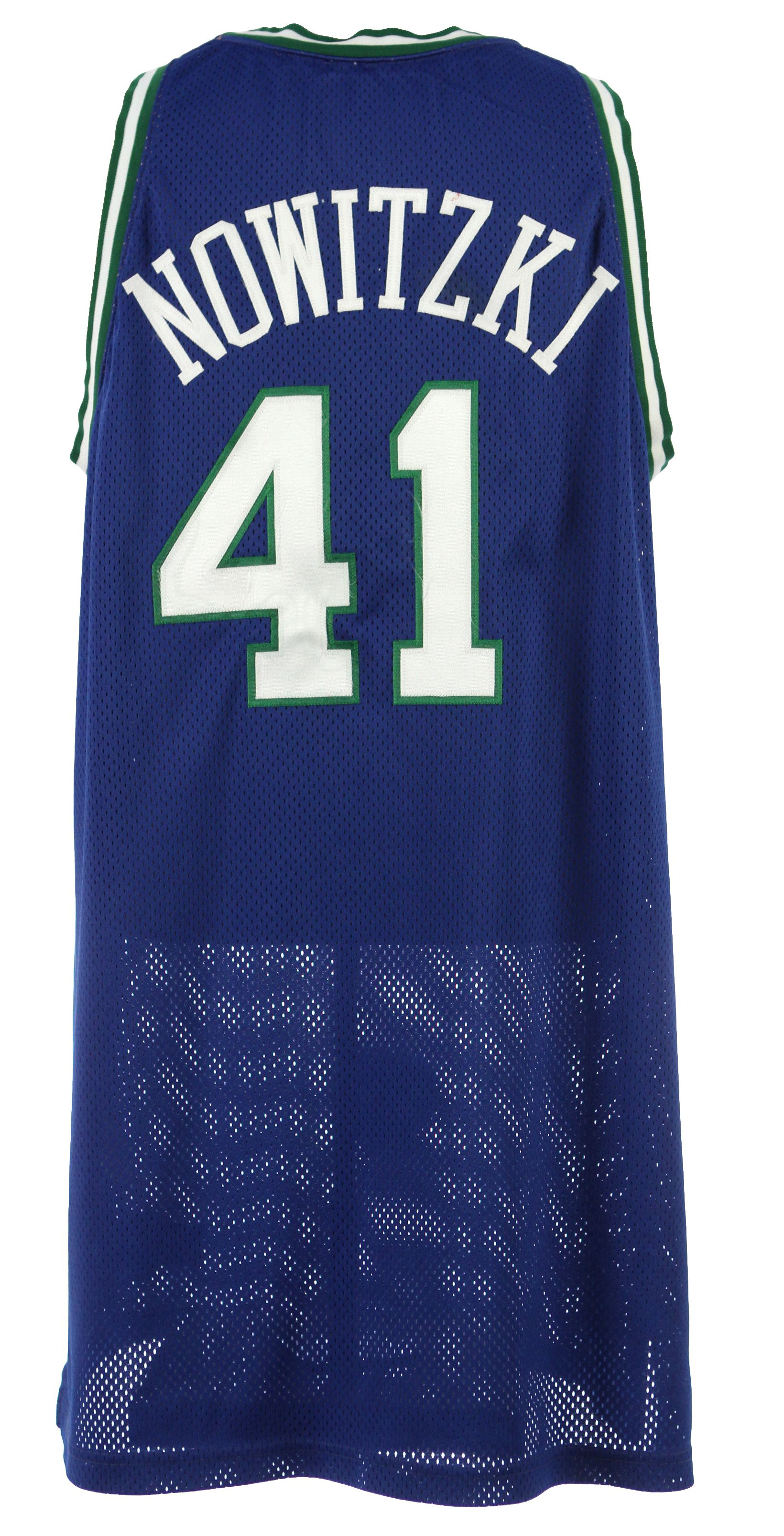 get cheap 87ce1 b4f6c Lot Detail - 1999-2000 Dirk Nowitzki Dallas Mavericks Game ...