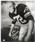 1958 Ray Nitschke #72 (First Day As A Pro) Green Bay Packers Autographed 16x20 Original Photo (JSA)