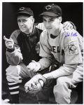"1939 Bob Feller Cleveland Indians ""Schooled By The Skipper"" Autographed Original 16x20 Hand Developed Photo (JSA)"