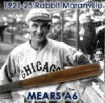 "1921-25 Rabbit Maranville Pittsburgh Pirates / Chicago Cubs H&B Louisville Slugger Professional Model Game Used Bat (MEARS A6) ""Only Block Letter Example From This Dating Period"""