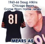 1963-66 Doug Atkins Chicago Bears Game Worn Home Jersey – Reissued To Amsler & Reppond (MEARS A5)