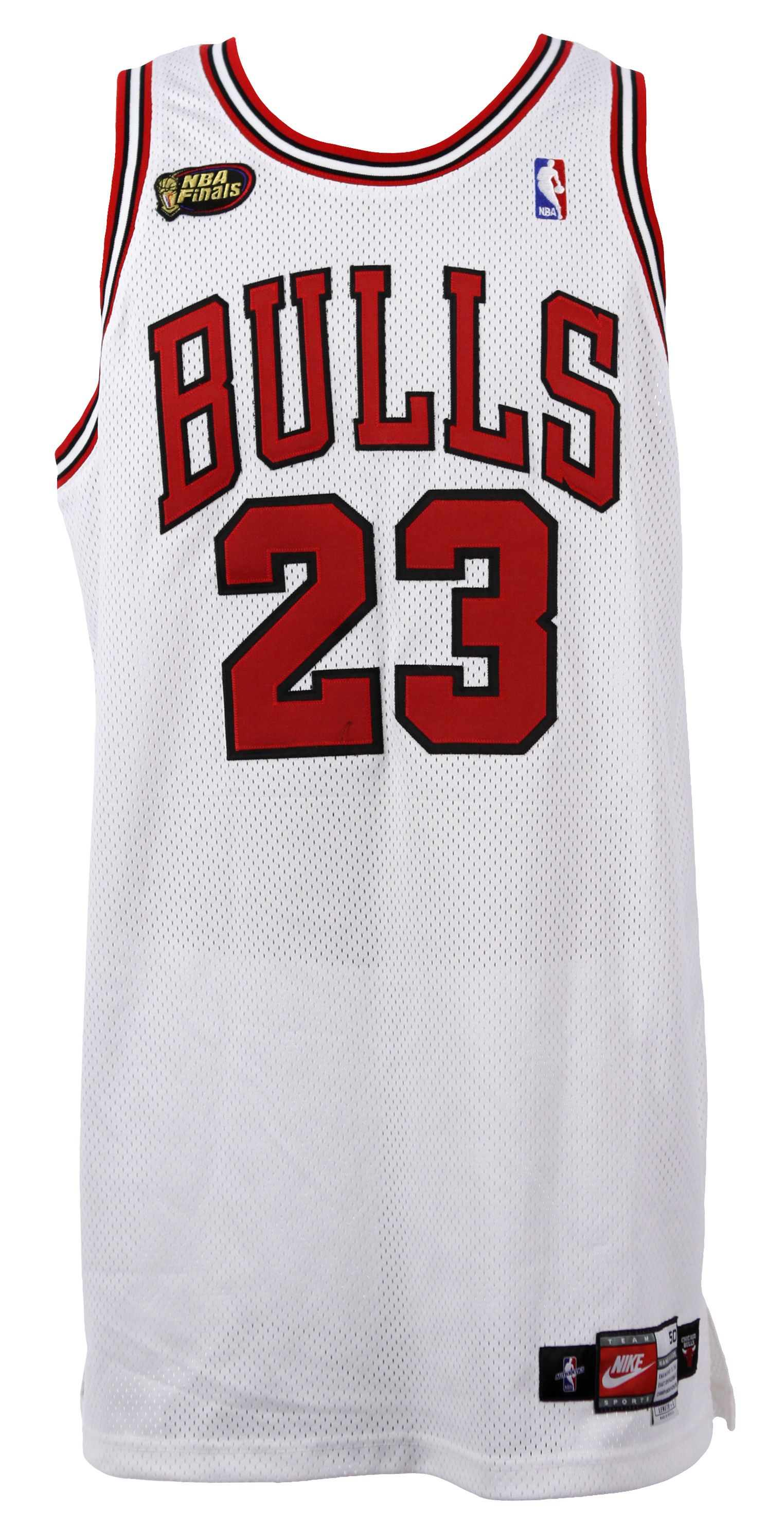 on sale c8425 d42b8 Lot Detail - 1998 Michael Jordan Chicago Bulls Game Worn NBA ...
