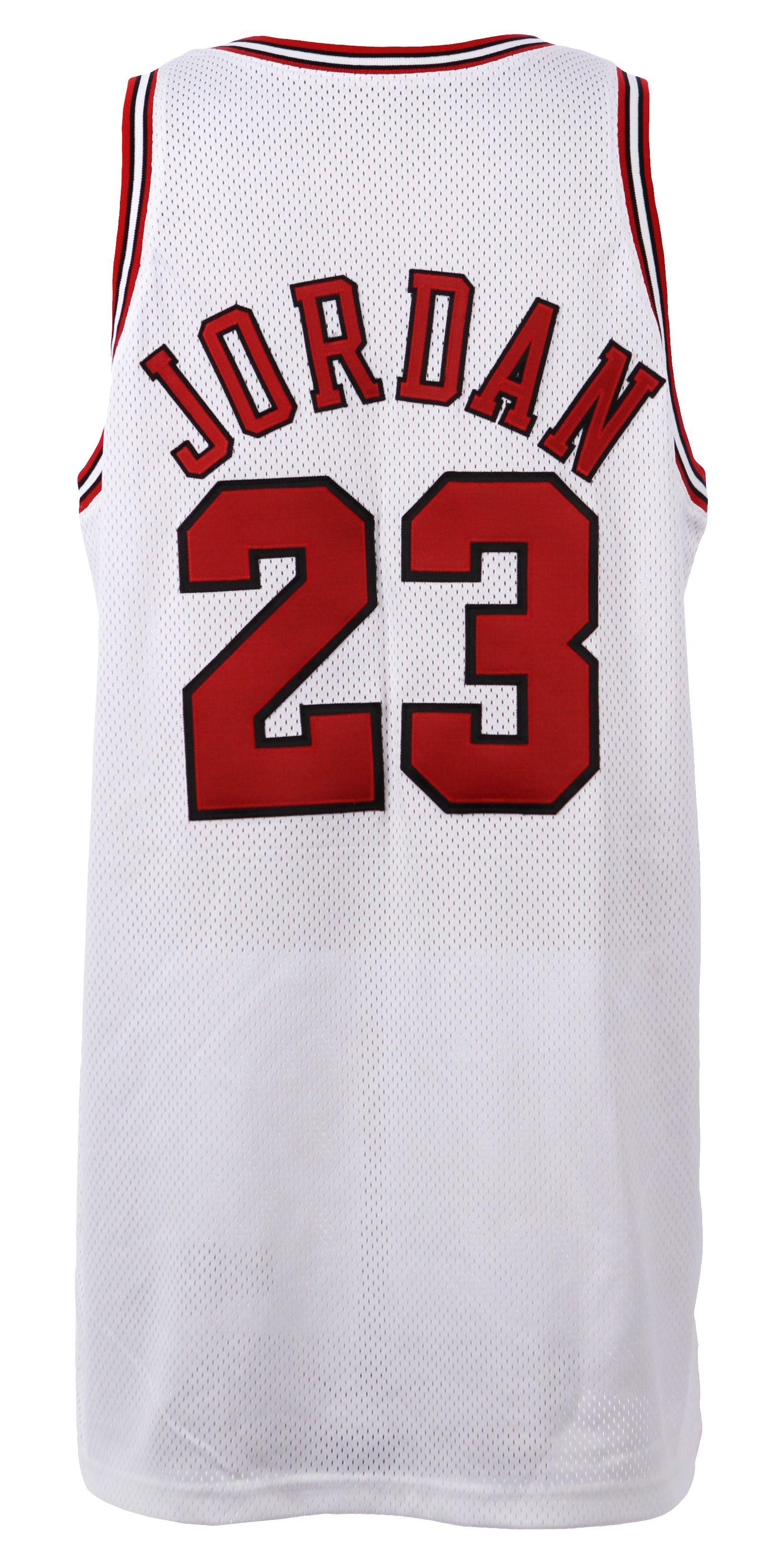 a274401d32b Lot Detail - 1998 Michael Jordan Chicago Bulls Game Worn NBA Finals Game 3  Home Jersey (MEARS A10)