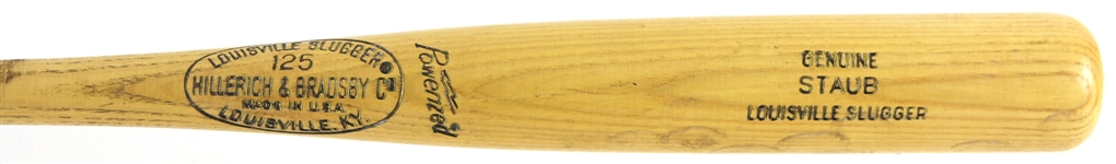 1973-74 Rusty Staub New York Mets H&B Louisville Slugger Professional Model Game Used Bat (MEARS LOA)