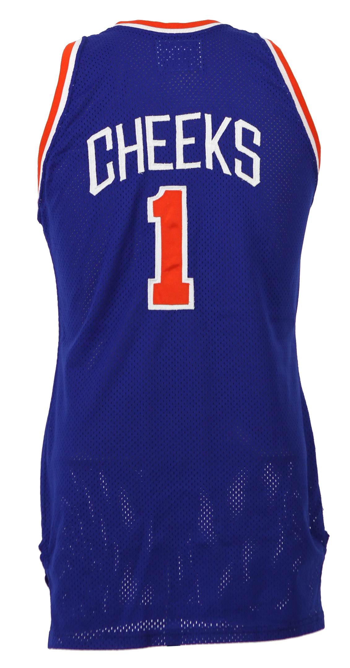 0a790c3aa93e 1989-90 Maurice Cheeks New York Knicks Game Worn Road Jersey (MEARS LOA).  Touch to zoom. Previous