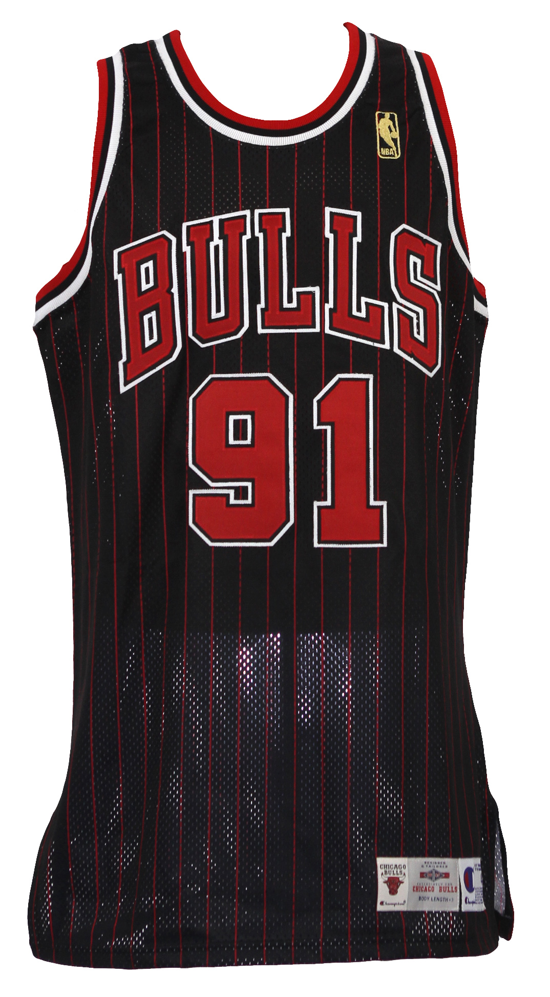 cheaper c7a44 f86d5 Lot Detail - 1996-97 Dennis Rodman Chicago Bulls Signed Pro ...