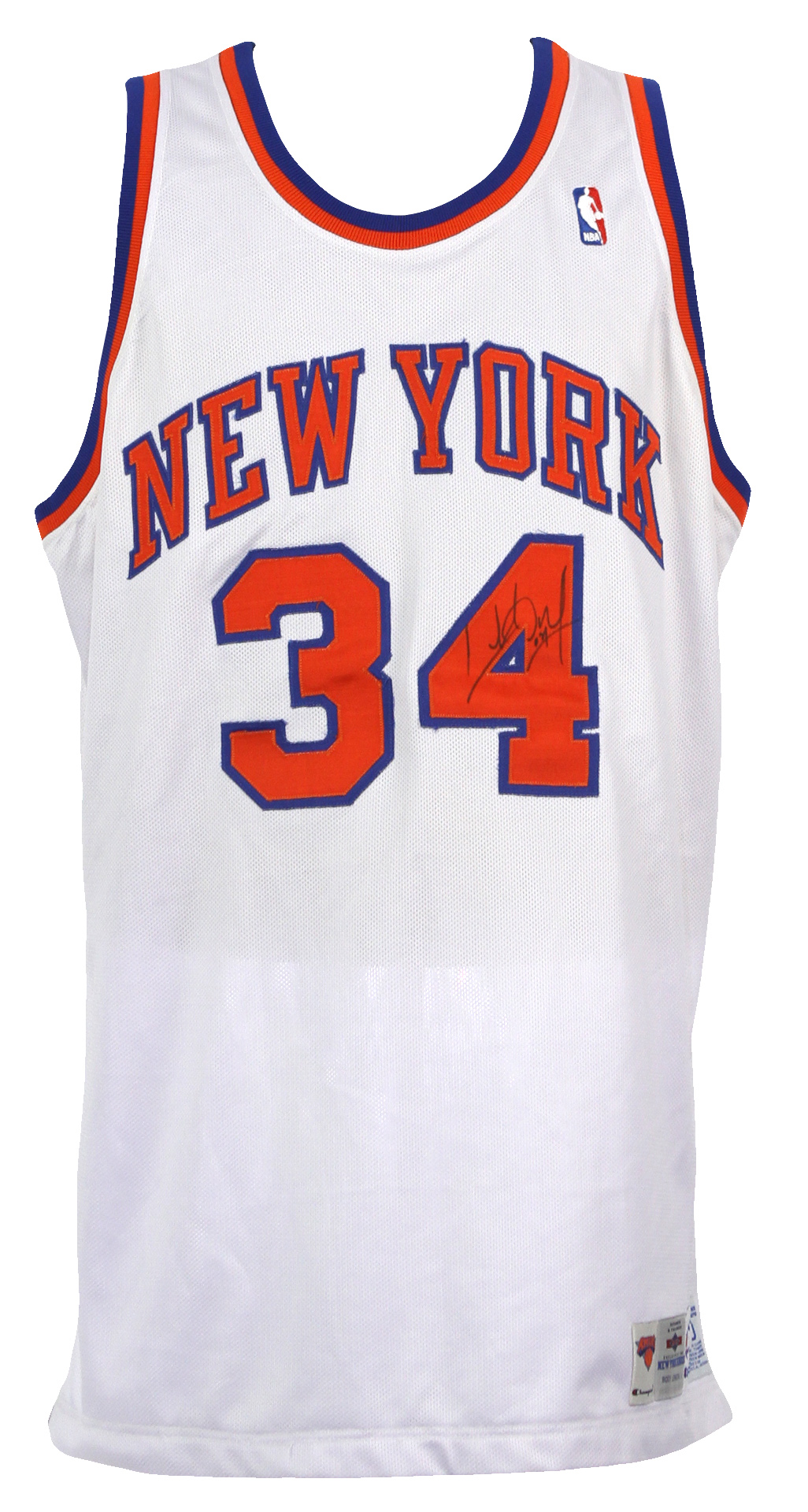 reputable site 89c01 8ae34 Lot Detail - 1994-95 Charles Oakley New York Knicks Signed ...