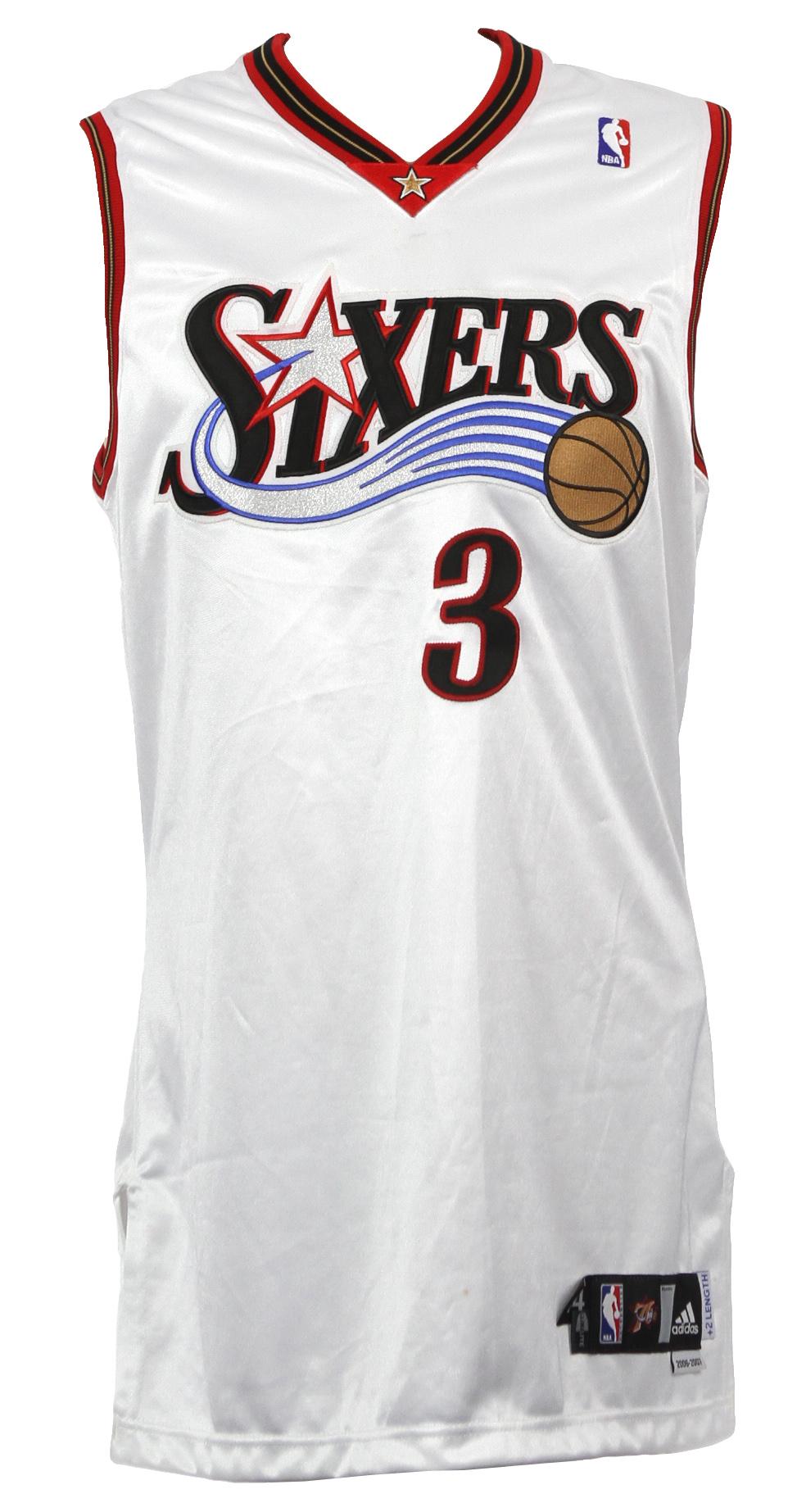 watch c39fd 6a8cb Lot Detail - 2006-07 Allen Iverson Philadelphia 76ers Signed ...