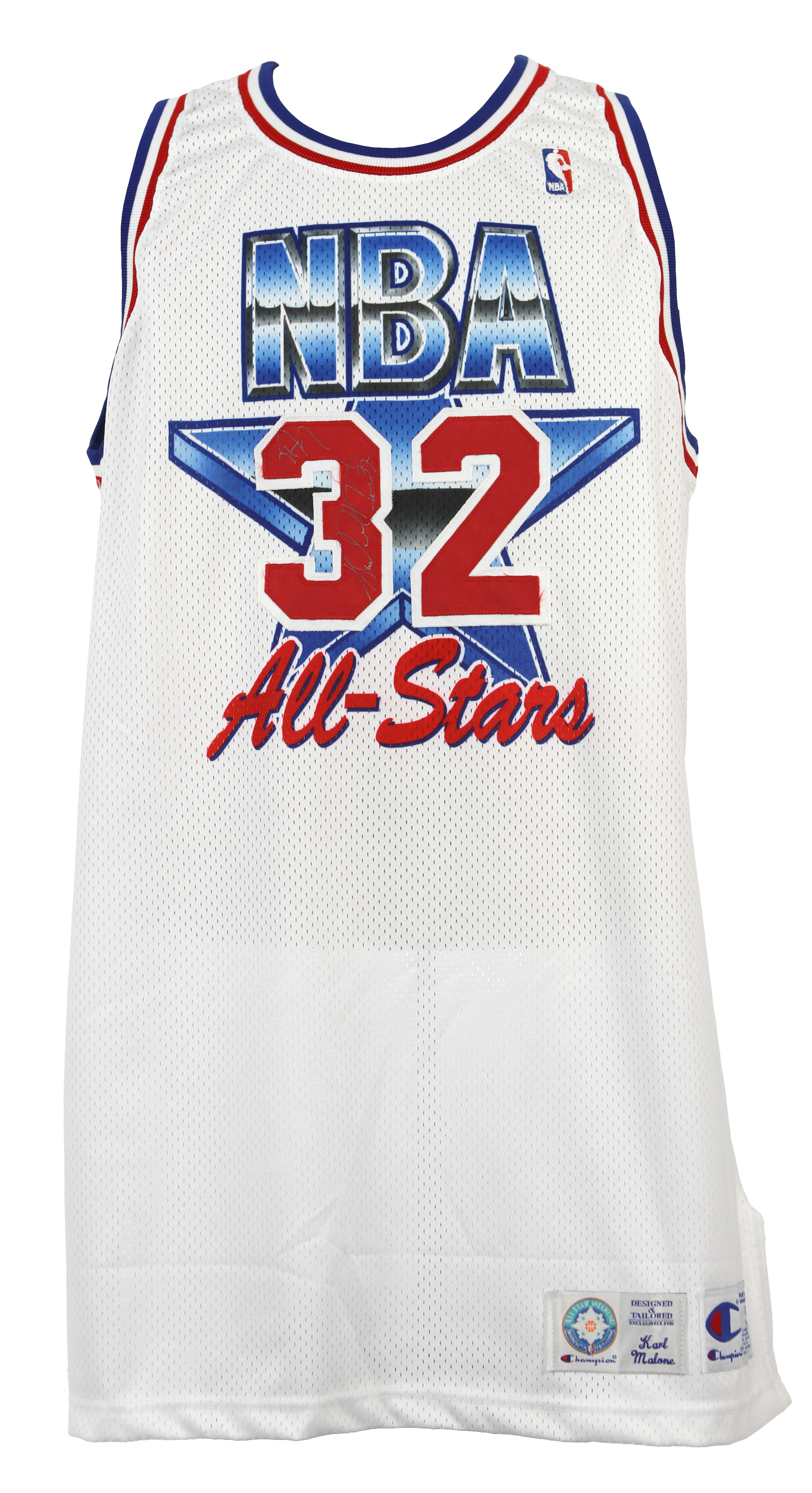 detailed look 6a13e 923d8 Lot Detail - 1994 Karl Malone Utah Jazz Signed All Star Game ...