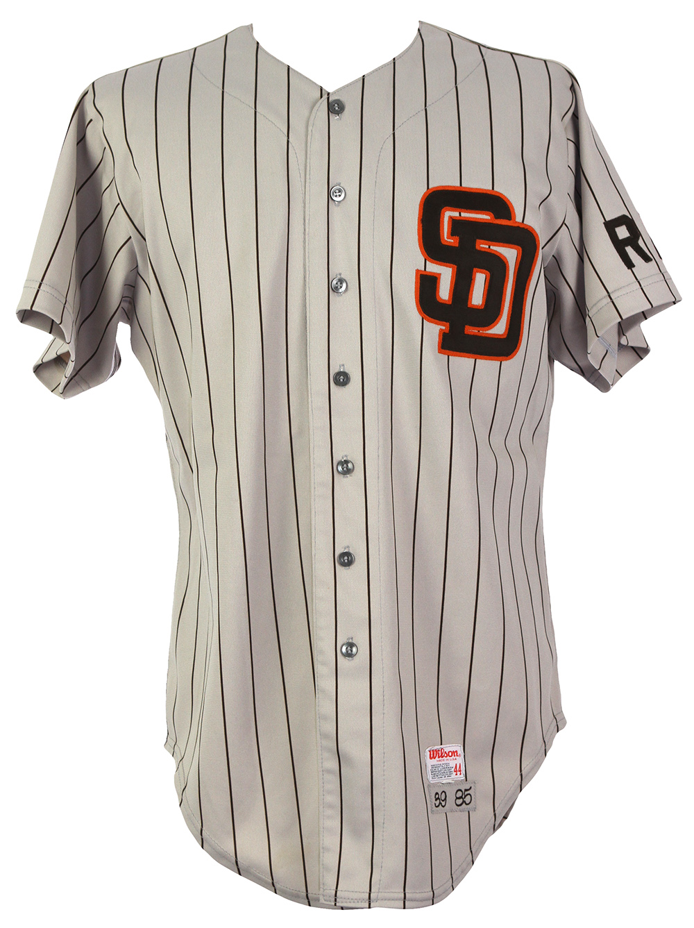 watch 380fa 09fcb Lot Detail - 1985 Roy Lee Jackson San Diego Padres Game Worn ...
