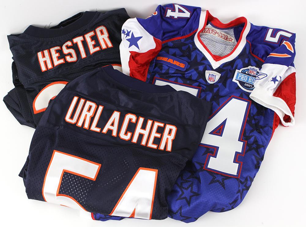 6ab2866896e Lot Detail - 2007 Brian Urlacher Chicago Bears Pro Bowl Jersey ...