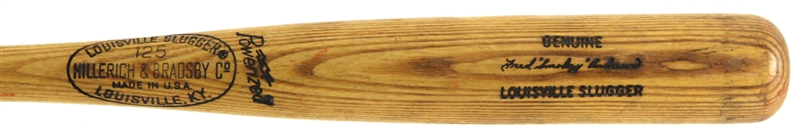 "1973-75 Fred ""Smokey"" Andrews Minor League H&B Louisville Slugger Professional Model Game Used Bat (MEARS LOA)"