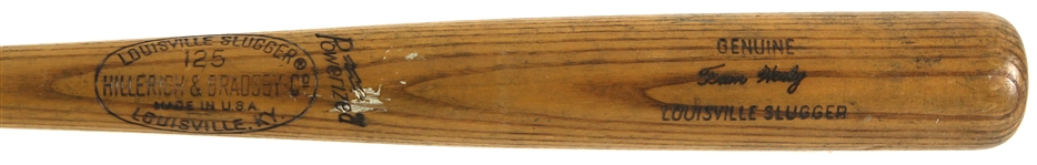 1975-76 Fran Healy Royals/Yankees Signed H&B Louisville Slugger Professional Model Game Used Bat (MEARS LOA/JSA)