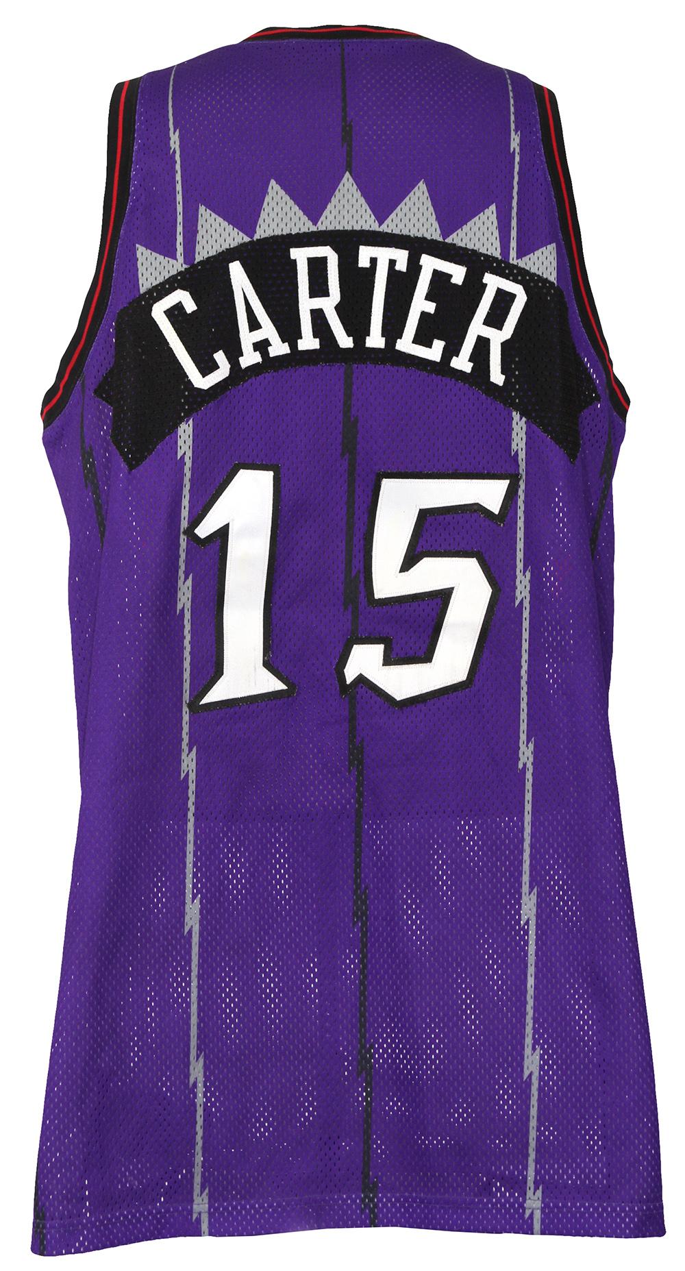 buy online f0063 444fc Lot Detail - 1998-99 Vince Carter Toronto Raptors Game Worn ...