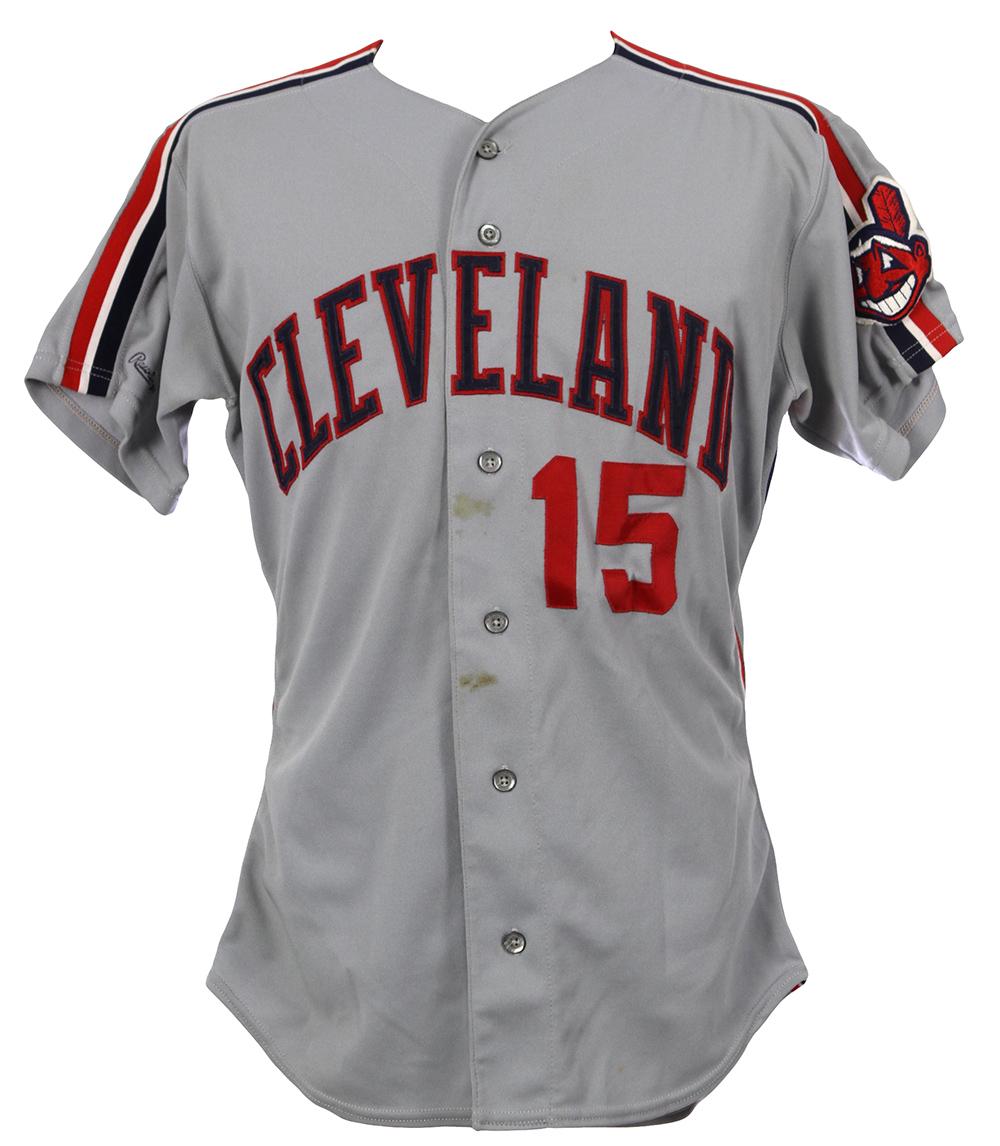 online retailer 4b0bb ef268 Lot Detail - 1990 Sandy Alomar Jr. Cleveland Indians Game ...
