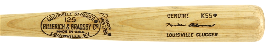 1977 Mike Adams Chicago Cubs H&B Louisville Slugger Professional Model Bat (MEARS LOA)