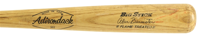 1976-79 Alan Bannister Chicago White Sox Adirondack Professional Model Game Used Bat (MEARS LOA)